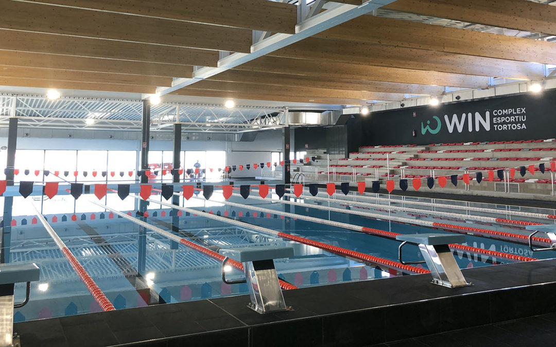 Dissabte, 1 de desembre, la nova piscina de Tortosa s'estrenarà en competició oficial