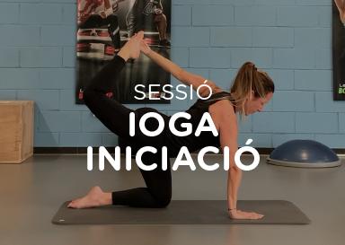 Sessió de ioga iniciació