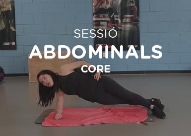 Sessió d'abdominals Core