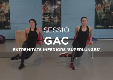 Sessió de GAC extremitats inferiors  'superlunges'