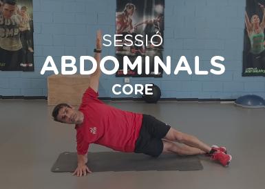 Sessió d'abdominals Core II