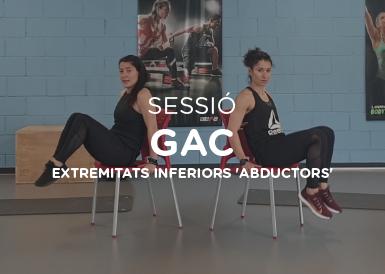 Sessió de GAC extremitats inferiors,  abductors