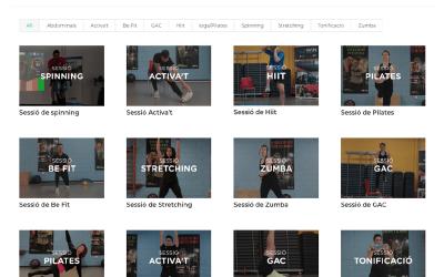 Entreno a casa, la nova plataforma digital de WIN Complex Esportiu Tortosa per fer exercici des de casa