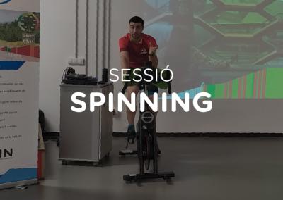Sessió spinning