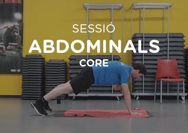 Sessió abdominals core